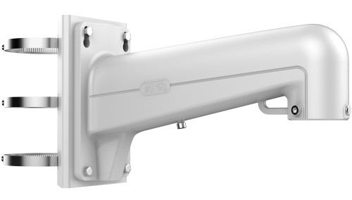 DS-1604ZJ-pole - Металлический кронштейн для крепления скоростных купольных камер на столб.