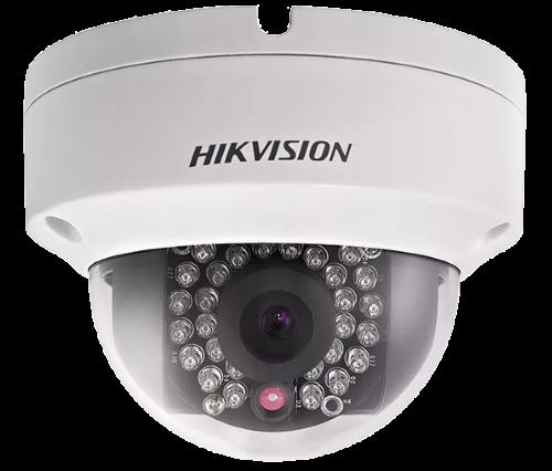DS-2CD2025FWD-IS - 2MP Уличная купольная антивандальная IP-камера с ИК-подсветкой  и поддержкой Аудио/Тревоги.