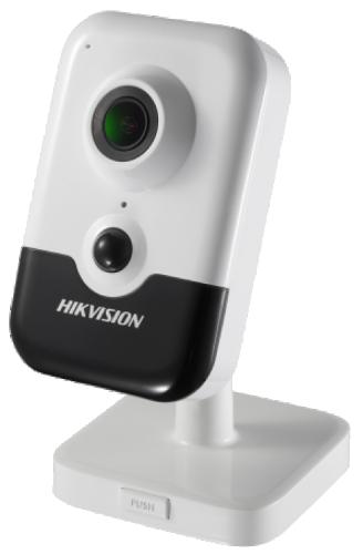 DS-2CD2443G0-I - 4MP кубическая камера с ИК-подсветкой и пассивным датчиком обнаружения движения.