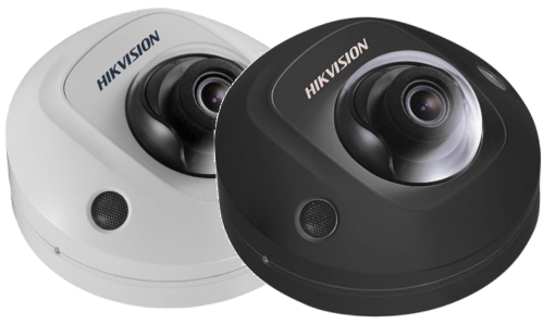 DS-2CD2523G0-IS - 2MP Уличная купольная антивандальная мини IP-камера с EXIR* ИК-подсветкой и поддержкой Аудио/Тревоги.