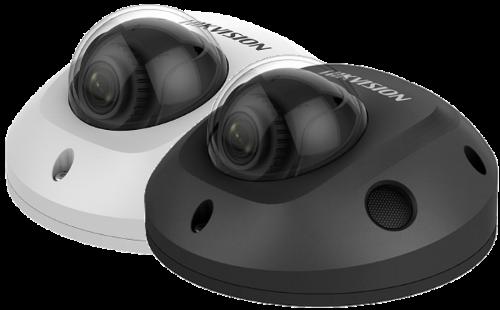 DS-2CD2525FWD-I - 2MP Уличная купольная антивандальная мини IP-камера с ИК-подсветкой.