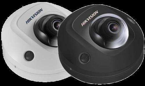 DS-2CD2543G0-I - 4MP Уличная купольная антивандальная мини IP-камера с EXIR* ИК-подсветкой.