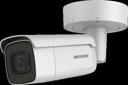 DS-2CD2623G0-I - 2MP Уличная варифокальная антивандальная цилиндрическая IP-камера с ИК-подсветкой, на кронштейне.