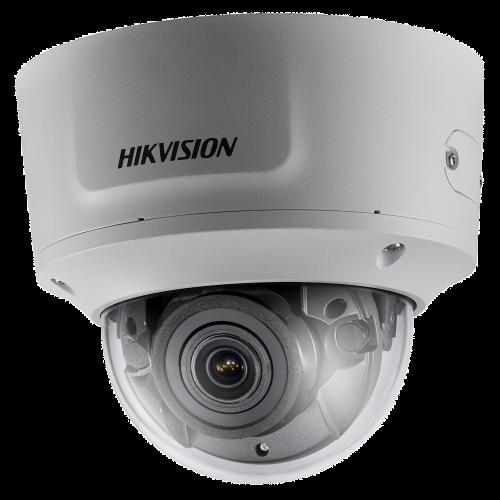 DS-2CD2723G0-IZ - 2MP Уличная варифокальная (моторизованный) антивандальная купольная IP-камера с ИК-подсветкой.