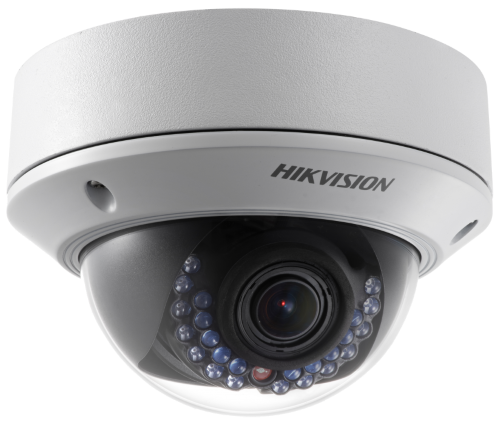 DS-2CD2742FWD-IS - 4MP Уличная варифокальная антивандальная купольная IP-камера с ИК-подсветкой и поддержкой