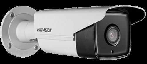 DS-2CD2T43G0-I8 - 4MP Уличная цилиндрическая IP-камера с EXIR ИК-подсветкой 80 м., на кронштейне.
