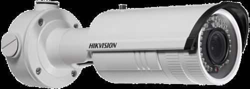 DS-2CD4224F-IZS - 2MP Уличная варифокальная (моторизованный) цилиндрическая IP-камера с ИК-подсветкой и поддержкой Аудио/Тревоги, на кронштейне.