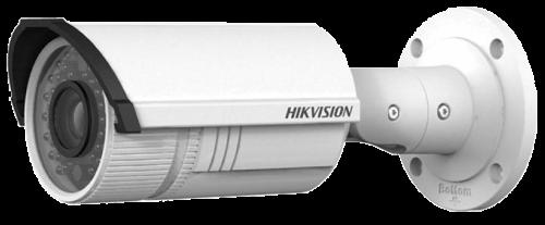 DS-2CD4232FWD-IZ - 3MP Уличная варифокальная (моторизованный) цилиндрическая IP-камера с ИК-подсветкой, на кронштейне.
