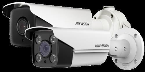 DS-2CD4A26FWD-IZHS/P - 2MP Уличная варифокальная (моторизованный) цилиндрическая высокочувствительная ANPR/LPR-IP-камера с ИК-подсветкой, обогревом и