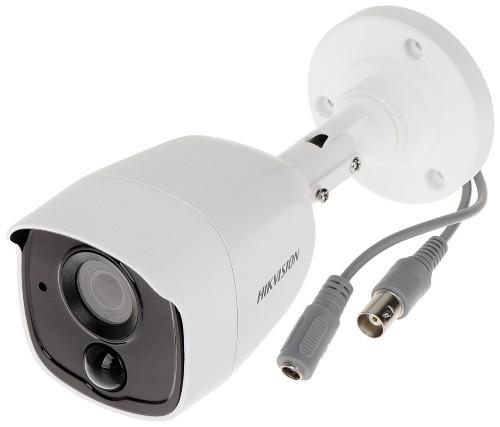 DS-2CE11D8T-PIRL - 2MP Уличная высокочувствительная цилиндрическая HD-TVI камера с EXIR* ИК-подсветкой, на кронштейне.