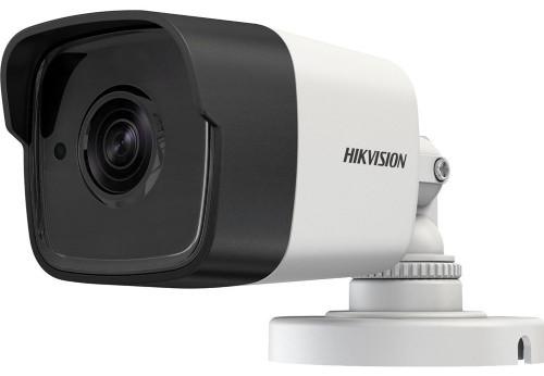 DS-2CE16D8T-IT - 2MP Уличная цилиндрическая высокочувствительная HD-TVI-камера с EXIR* ИК-подсветкой, на кронштейне.