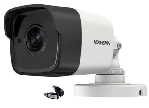 DS-2CE16F7T-IT (3.6 мм) + DS-1H18 HD - Комплект 3MP уличной цилиндрической HD-TVI-камеры с EXIR* ИК-подсветкой