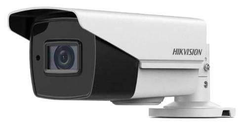 DS-2CE16H0T-IT3ZF - 5MP Уличная цилиндрическая варифокальная (моторизованный) HD-TVI-камера с EXIR* ИК-подсветкой, на кронштейне.