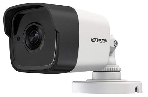 DS-2CE16H0T-ITPF - 5MP Уличная цилиндрическая HD-TVI камера с EXIR*- ИК-подсветкой, на кронштейне. Пластик.