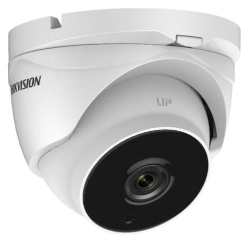 DS-2CE56D8T-IT3ZА - 2MP Уличная купольная варифокальная (моторизованный) HD-TVI-камера с  EXIR* ИК-подсветкой и двойным питанием.