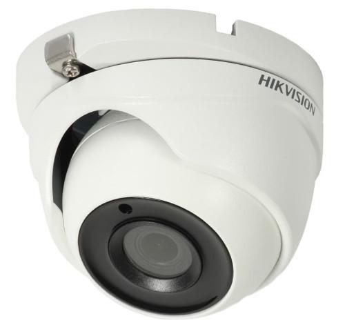 DS-2CE56F7T-ITM - 3MP Уличная купольная HD-TVI камера с EXIR* Smart-ИК-подсветкой.