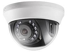 DS-2CE56H0T-IRMMF - 5MP Внутренняя купольная HD-TVI камера с ИК-подсветкой.