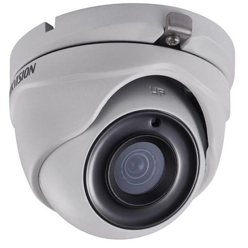 DS-2CE56H0T-ITMF - 5MP Уличная купольная HD-TVI камера с ИК-подсветкой.