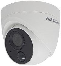 DS-2CE71H0T-PIRL - 5MP Уличная купольная HD-TVI камера с EXIR* ИК-подсветкой, PIR-детекцией и визуальной