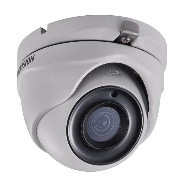 DS-2CE76D3T-ITMF - 2MP Уличная высокочувствительная купольная HD-TVI камера с EXIR* ИК-подсветкой.