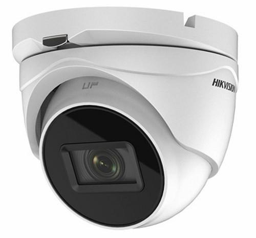 DS-2CE79D3T-IT3ZF - 2MP Уличная высокочувствительная варифокальная (автозумм) купольная камера с интеллект (EXIR*)-технологией ИК-подсветки.