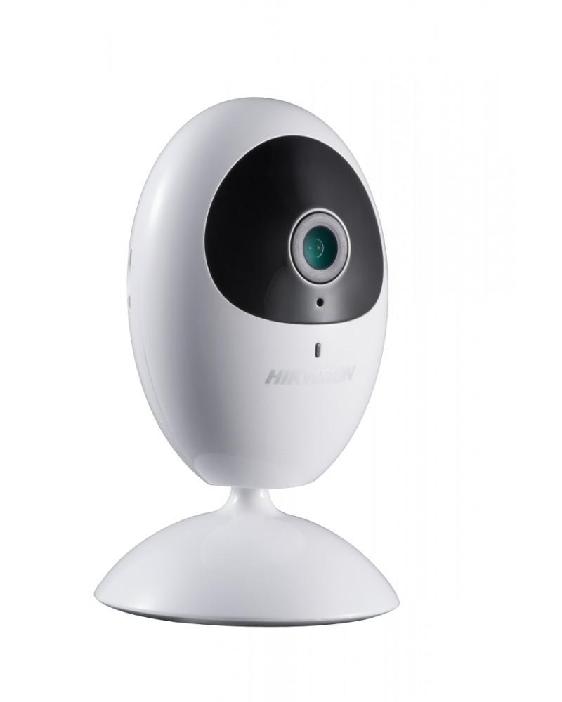 DS-2CV2U01FD-IW - 1 MP внутренняя кубическая сетевая Wi-Fi-камера с фиксированным объективом и ИК-подсветкой.