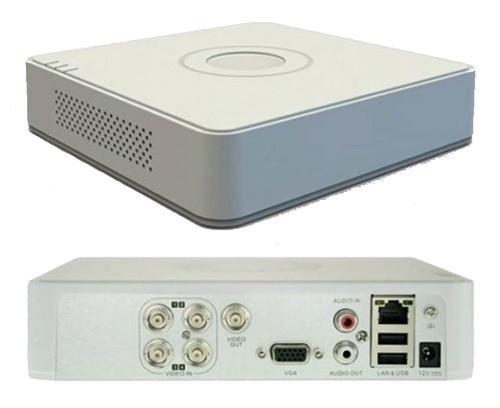 DS-7104HGHI-F1 - 4-х канальный гибридный видеорегистратор с разрешением записи до 1080 р на канал.