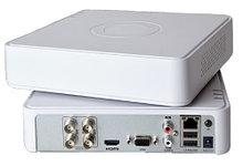 DS-7104HQHI-K1 - 4-х канальный гибридный видеорегистратор с разрешением записи до 4 MP на канал.