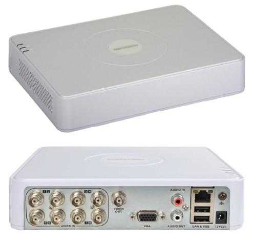 DS-7108HGHI-F1 - 8-ми канальный гибридный видеорегистратор с разрешением записи до 1080 р на канал.