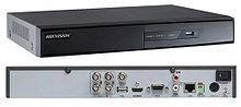 DS-7204HGHI-F1 - 4-х канальный гибридный видеорегистратор с разрешением записи до 1080 р на канал.