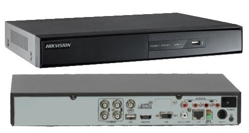 DS-7204HQHI-F1/N - 4-х канальный гибридный видеорегистратор с разрешением записи до 3 MP на канал. Обновлённая модель.