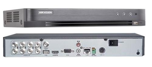 DS-7208HQHI-K2 - 8-ми канальный гибридный видеорегистратор с разрешением записи до 4MP на канал, с 2