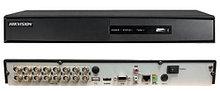DS-7216HGHI-F2 - 16-ти канальный гибридный видеорегистратор с разрешением записи до 1080 р на канал, с 2-мя SATA-интерфейсами.