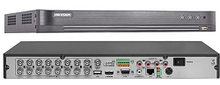 DS-7216HUHI-K2 - 16-ти канальный гибридный видеорегистратор с разрешением записи до 5MP на канал, с 2 SATA-интерфейсами.