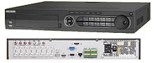 DS-7316HQHI-K4 - 16-ти канальный гибридный видеорегистратор с разрешением записи до 4MP на канал, с 4 SATA-интерфейсами.