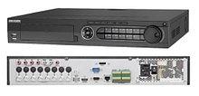 DS-7324HUHI-K4 - 24-х канальный гибридный видеорегистратор с разрешением записи до 8 MP на канал, с 4 SATA-интерфейсами.