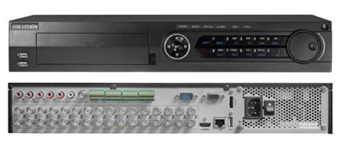 DS-7332HUHI-K4 - 32-х канальный гибридный видеорегистратор с разрешением записи до 5MP на канал, с 4