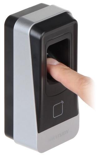 DS-K1201MF - Считыватель отпечатков пальцев.