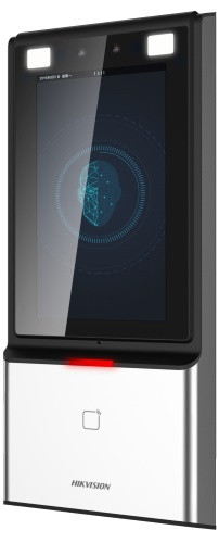 DS-K1T606MF - Терминал доступа с функцией распознавания лиц,отпечатков пальцев и карт Mifare, IP65.