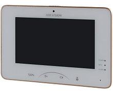 """DS-KH8301-WT - 7"""" IP-Монитор домофонный цветной с сенсорным управлением и встроенным WI-FI-модулем."""