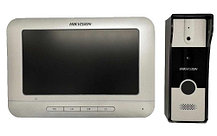 """DS-KIS202 - Комплект DS-KB2411-IM (вызывная панель) + DS-KH2220 (монитор 7"""")"""
