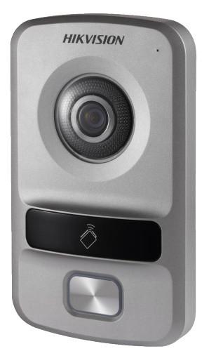 DS-KV8102-IP - 1.3MP вызывная IP-панель видеодомофона на одного абонента с ИК-подсветкой.