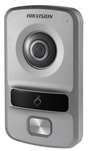 DS-KV8102-VP - 1.3MP вызывная IP-панель видеодомофона на одного абонента с ИК-подсветкой.