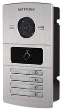 DS-KV8402-IM - 1.3MP вызывная IP-панель видеодомофона на четырёх абонентовс ИК-подсветкой.