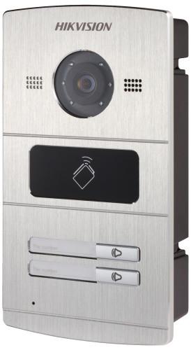 DS-KV8202-IM - 1.3MP вызывная IP-панель видеодомофона на двух абонентовс ИК-подсветкой.