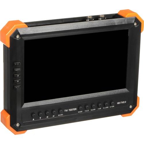 """X41T - 7"""" LCD Тестовый монитор для HD-TVI камер."""
