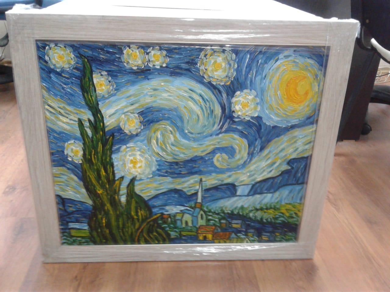 Пластиковые рамы для картин по индивидуальному заказу