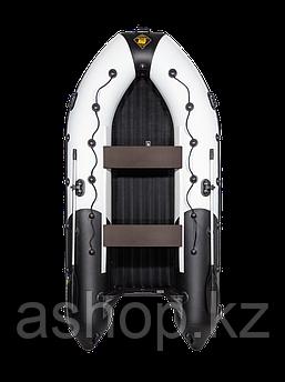 Лодка надувная моторно-гребная килевая Ривьера  3600 НДНД, Грузоподъемность: 750кг, Вместимость: 4 чел., Кол-в