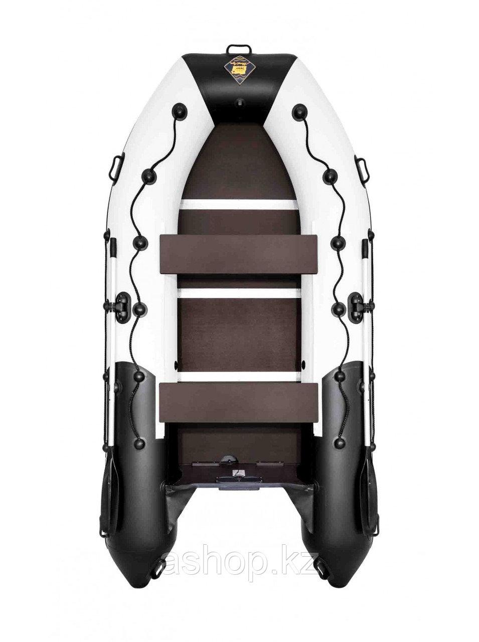 Лодка надувная моторно-гребная килевая Ривьера Максима  3400 СК, Грузоподъемность: 650кг, Вместимость: 3 чел.,