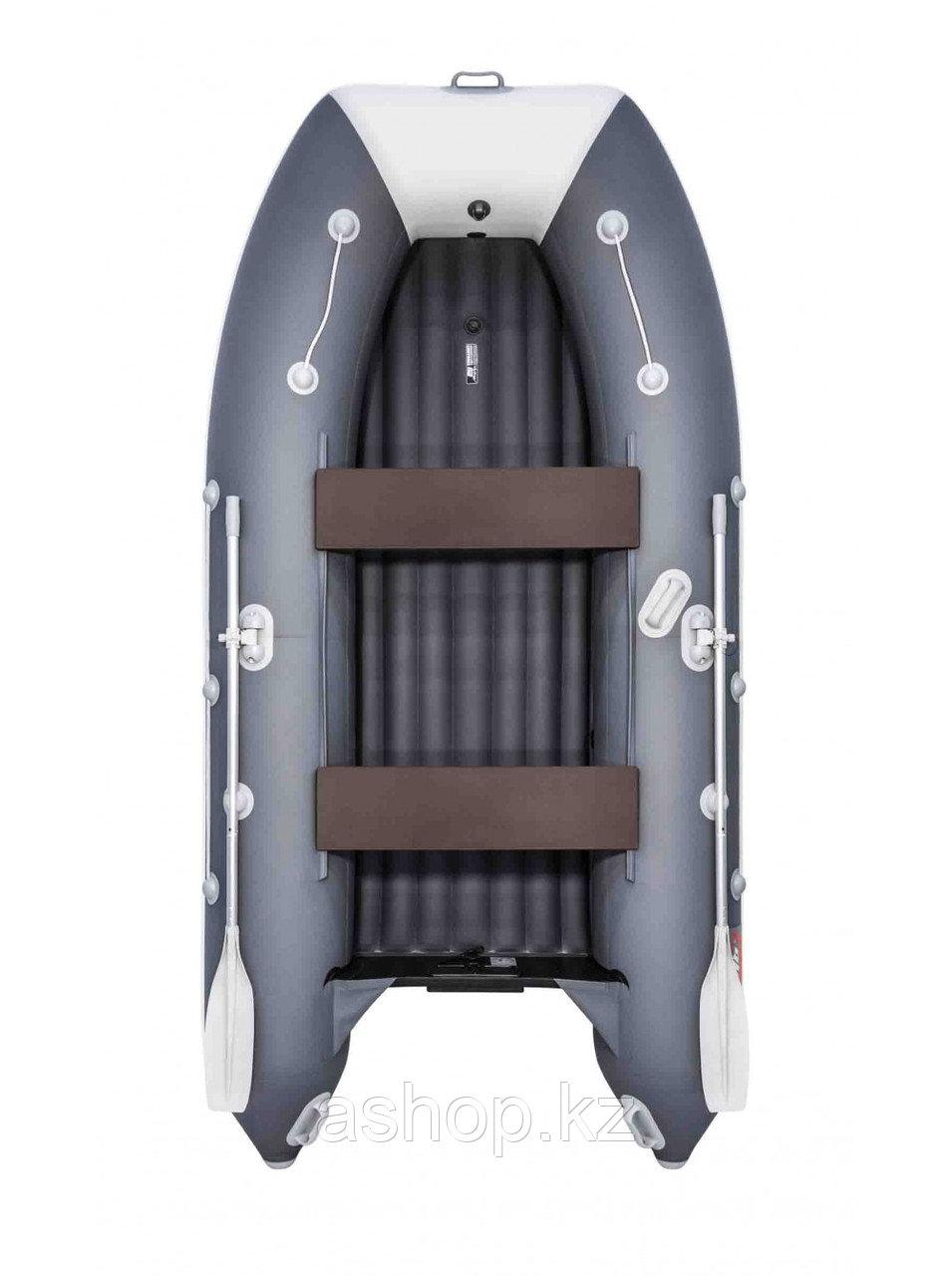 Лодка надувная моторно-гребная килевая Таймень 3400 НДНД PRO, Грузоподъемность: 650кг, Вместимость: 4 чел.,